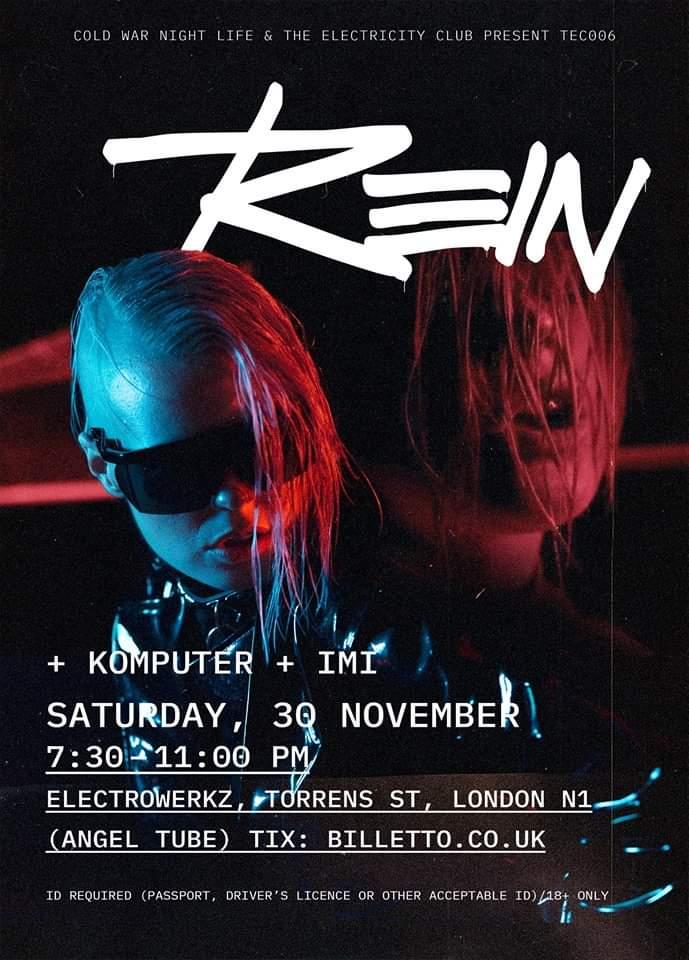 Rein, Komputer and IMI at TEC 006